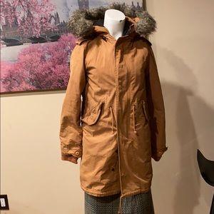 TNA Britannia Hoodie coat women size XXS